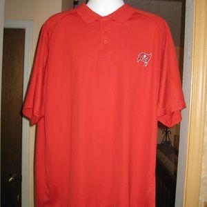 NFL Tampa Bay Buccaneers Polo Shirt   XXL